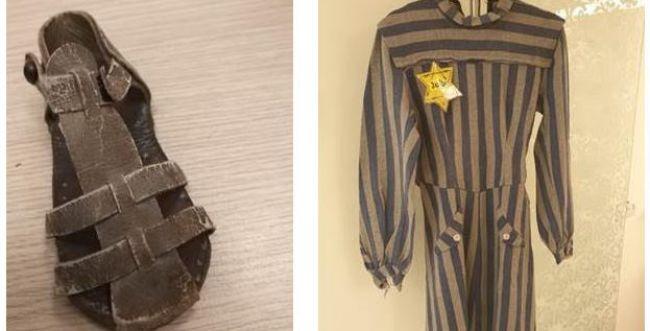הניצולים שמרו: שמלה מהגטו, סנדל מפיסת עור