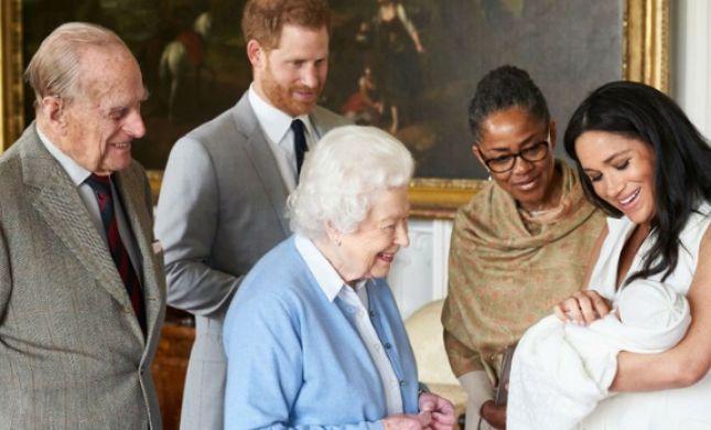 מייגן והארי הודיעו: זה שמו של התינוק המלכותי החדש