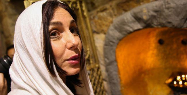 """צפו: """"הרבנית"""" מירי רגב בברכה להקמת הממשלה"""