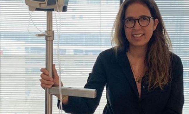 """""""התפילות נענו"""": אשת השדרן החלימה מהסרטן"""