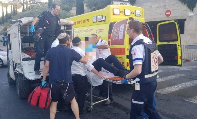 פצועים קל ואנוש בפיגוע דקירה כפול בירושלים