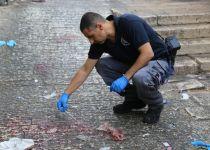 דוקר נמלט ונורה- בצפו בתיעוד מהפיגוע הבוקר