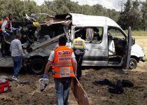 ארבעה הרוגים בהתנגשות מיניבוס ליד מודיעין