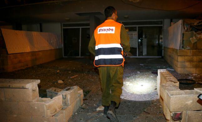 """שני חיילים נפצעו מרסיסים מפצמ""""ר שנפל בסמוך"""