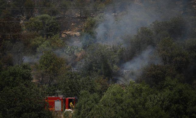 שריפה בכביש 1: מחלף מוצא למערב נפתח לתנועה