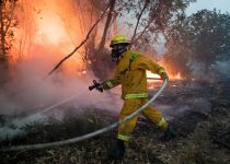 סיכום אירועי השריפות: 1023 מוקדי אש; 0 הרוגים