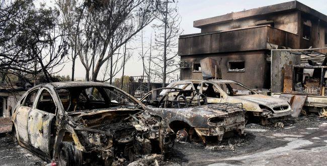 מתגברים הסימנים: השריפה במבוא מודיעים בגלל הצתה
