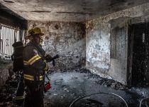 פעוט נהרג בשריפה בבניין בצפת, 18 פצועים נוספים