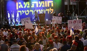 """חדשות, חדשות פוליטי מדיני, מבזקים עשרות אלפים מפגינים נגד נתניהו: """"לא נהיה כבשים"""""""