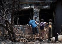 צפו בנס: הבתים נשרפו ובית הכנסת נותר שלם