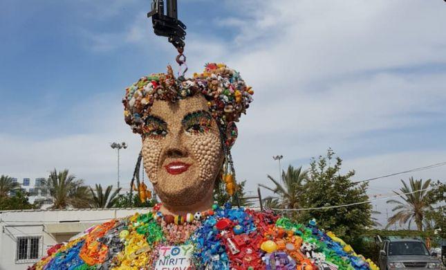 לאן נעלם הפסל הענק של נטע ברזילי?