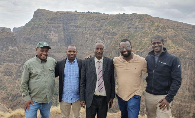"""""""זוכרים היכן נולדנו"""" מיזם לשיקום אתרים באתיופיה"""
