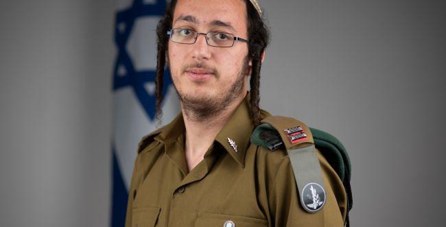 המצטיין ההסדרניק: סגן דניאל רגב מהרבנות הצבאית