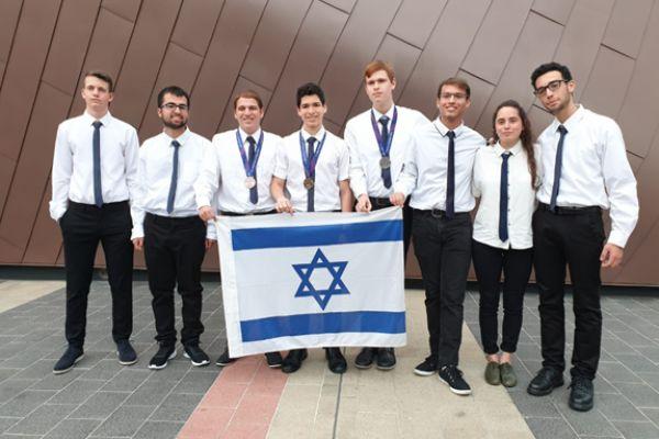 הישג נכבד לנבחרת ישראל באולימפיאדה בפיזיקה
