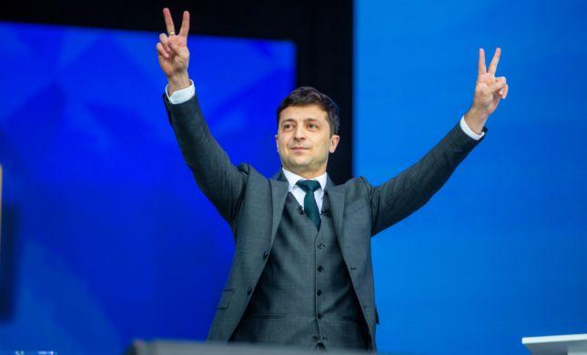 """נשיא אוקראינה: """"ויתרתי על מקומי בטקס לניצולי שואה"""""""