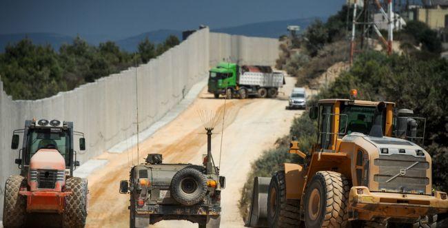 """צה""""ל פורס תשתית לזיהוי מנהרות בגבול לבנון"""