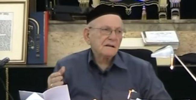 """ברוך דיין אמת: """"החלבן"""" הלך לעולמו בגיל 84"""