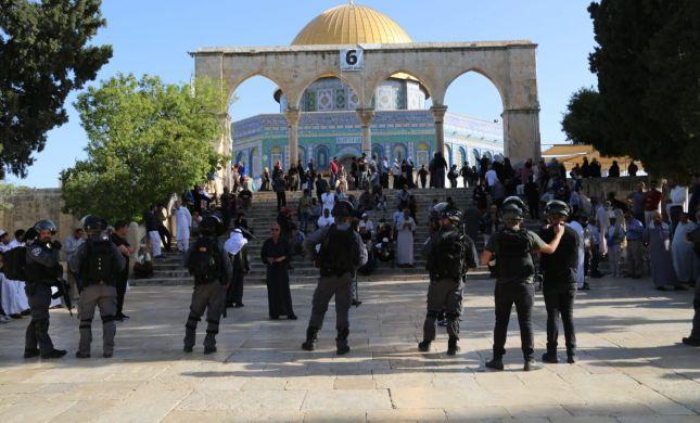 מעקב סרוגים: המשטרה שינתה מדיניות בהר הבית
