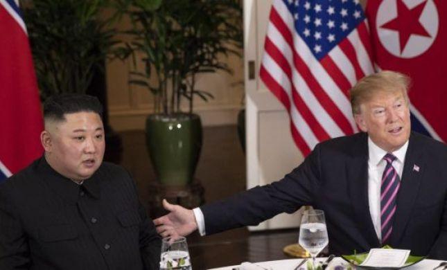 """""""רק לומר שלום""""; טראמפ הזמין את קים ללחיצת יד"""