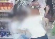 תיעוד קשה: אלימות קשה בסופר בגלל עגלת קניות.צפו