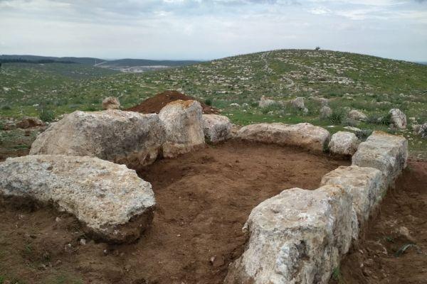 חיילים חשפו מגדל תצפית מימי המלך חזקיהו