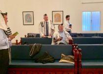 צפו: תיעוד מרגש מתפילת שחרית בוועידת בחריין