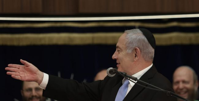"""נתניהו: """"מדינת ישראל לא תהיה מדינת הלכה"""""""