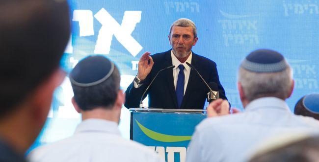 הנאומים בבית היהודי: איחוד בימין על בסיס אלקטורט