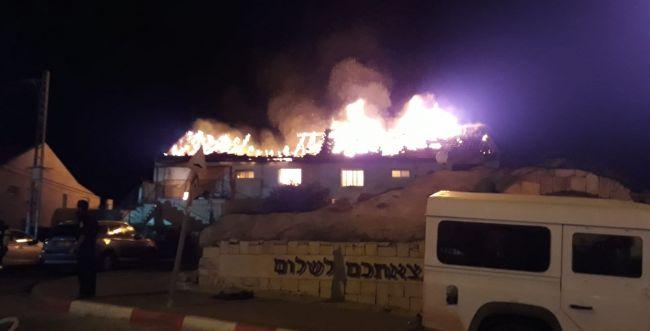 שריפה פרצה בכוכב יעקב; הושגה שליטה על האש