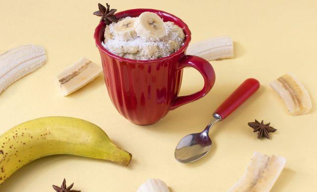 טעים להכיר: עוגת בננה בספל שתוכלו להכין בקלות
