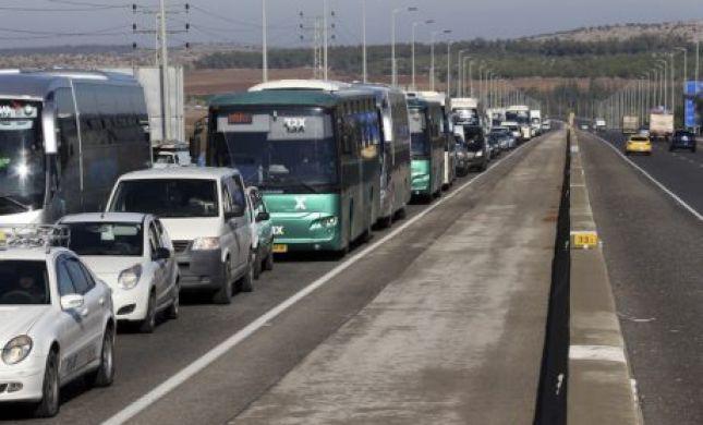 החל מהערב: חסימות בכביש 1; עומסים בירושלים