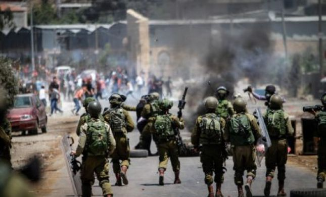 """אירוע חריג: חילופי אש בין צה""""ל לאנשי בטחון פלסטינים"""