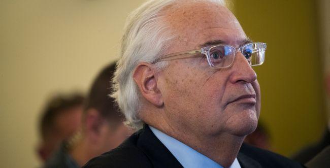 """שגריר ארה""""ב בישראל באמירה מפתיעה"""