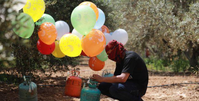 חמאס מפר את הפסקת האש: בלוני הנפץ חזרו