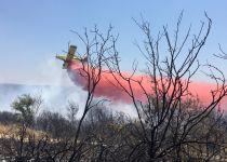 מסתמן: שריפת החורש ליד יערה - כתוצאה מהצתה