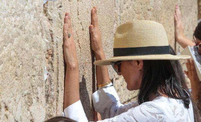 ביקור בישראל: ניקי היילי הגיעה לכותל המערבי
