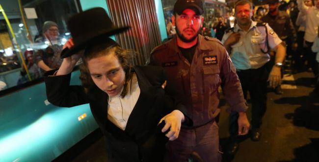 מחאה בירושלים: רחובות נחסמו, 4 מפגינים נעצרו