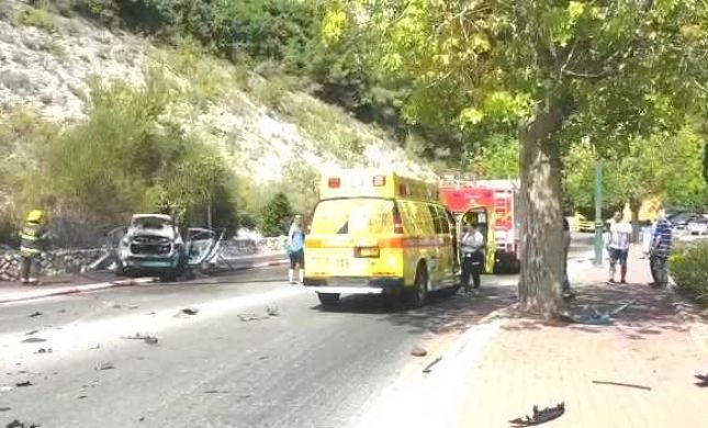 חיסול בנשר: גבר נהרג כתוצאה מפיצוץ ברכבו