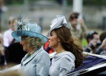 סערה: השיירה של הנסיך ווילאם וקייט דרסה קשישה