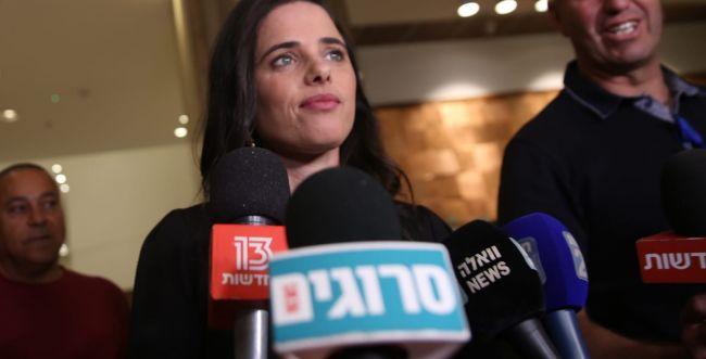 """שקד: """"ממשלת אחדות של מדינה יהודית ודמוקרטית"""""""