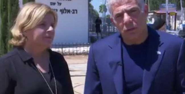 צפו: לפיד מדבר, אורנה ברביבאי עומדת לקישוט