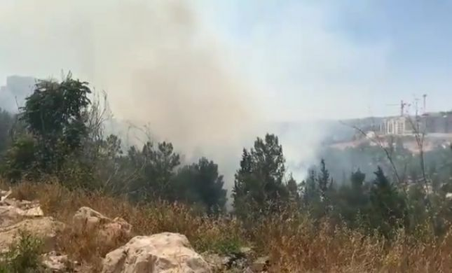 גן ילדים ובית מדרש פונו; הושגה שליטה על השריפה בירושלים