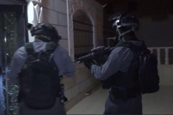 צפו: מעצר של 32 חשודים בגניבת מים בהר חברון