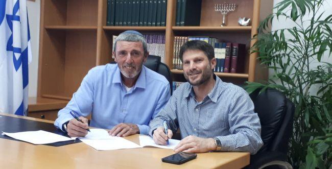 ההסכם המסתמן בין הבית היהודי והאיחוד הלאומי