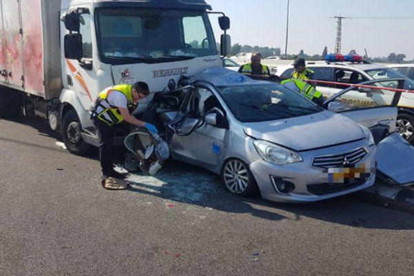 לאחר שאשתו ובנו נהרגו בתאונה- האב מת מפצעיו