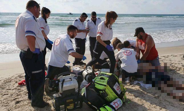 טביעה כפולה: גבר ואישה בני 30 טבעו למוות