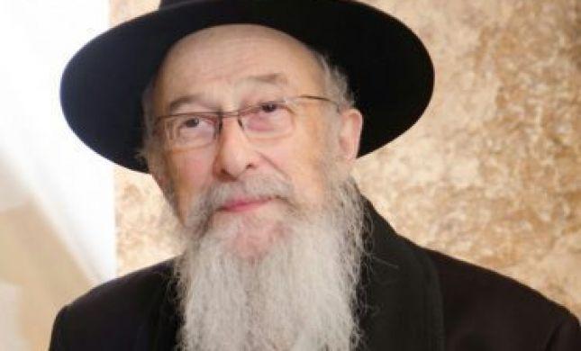 הרב טאו בהתבטאות ראשונה על מפלגת 'נעם'