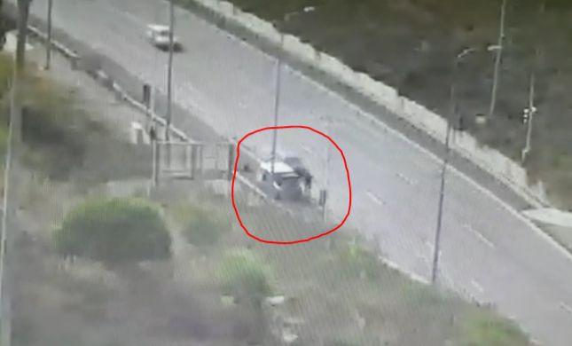 תיעוד התאונה בכביש מספר 1: ירד לכביש ונדרס