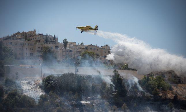 גל שריפות ענק: תושבי שבי שומרון פונו מבתיהם