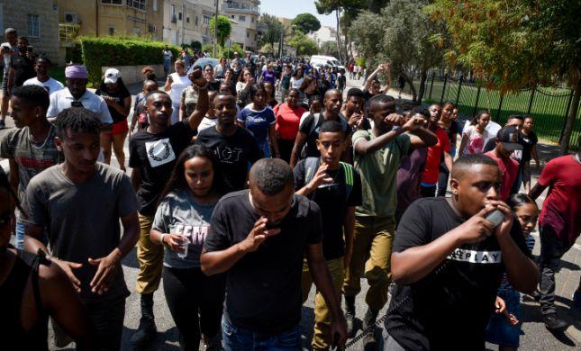 בעקבות אירוע הירי: מחאה בקהילה האתיופית